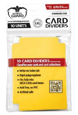 Ultimate Guard Card Dividers - Yellow